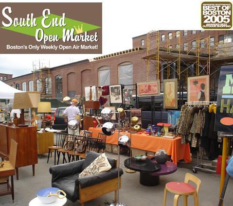 South End Open Market: Boston
