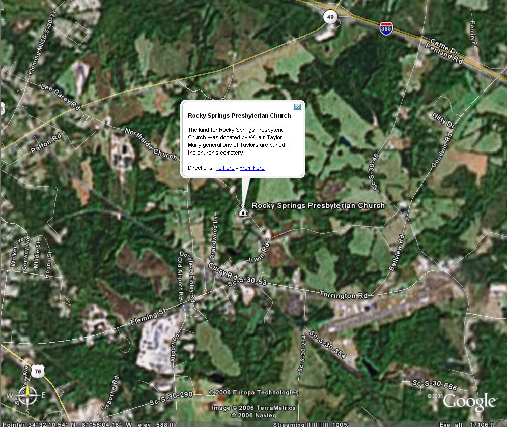Google Earth – Using Image Overlays – Random Connections