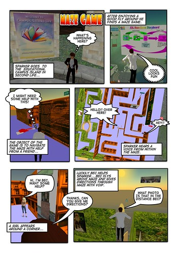 Creating comics with Secondlife & Comiclife