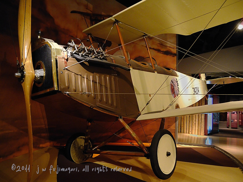 Bi-Plane Flown By Fred McCall