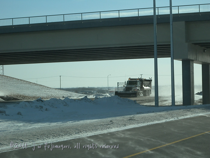 Plowing on Stoney Trail