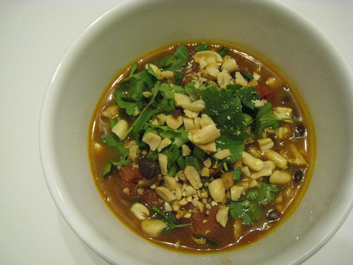 Tofu Chili with Soy Sauce