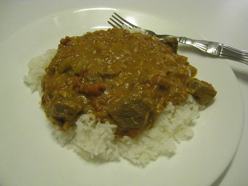 Stewed Cinnamon-Scented Lamb Curry