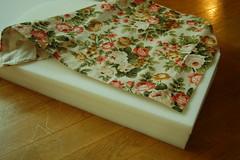 2. cut fabric