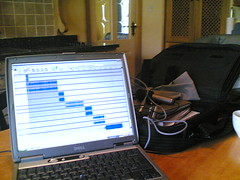 Temporary Portable Podcast Studio