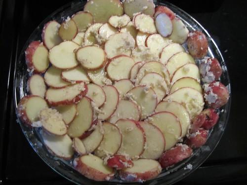 Potato Crusted Quiche