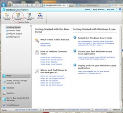 Create Strage Account on Windows Azure Management Portal