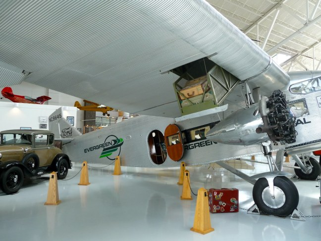 "Ford 5-AT-B Tri-Motor ""Tin Goose"" Exterior"