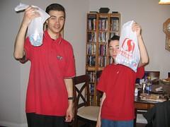 Easter egg hunt 2006 - Success!