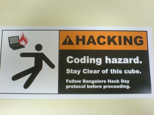 Hacking in progress