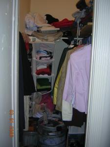 rigged closet