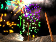 Fireworks by Mundy Harbinger