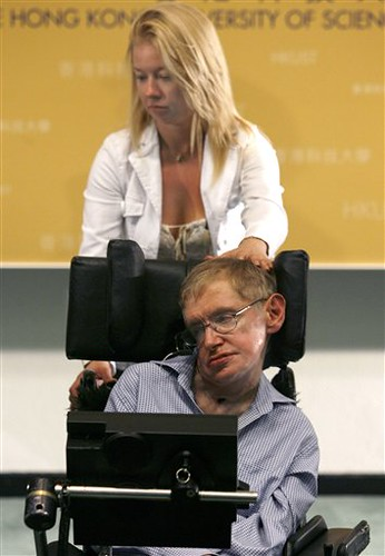 Steven Hawking in Hong Kong