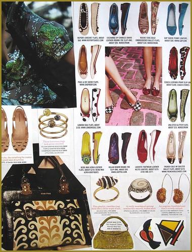 fashion scrapbook page 2