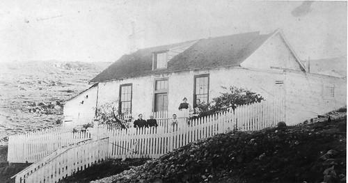 Adobe house on Potrero Hill