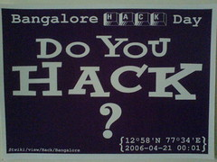Yahoo! Bangalore Hack Day