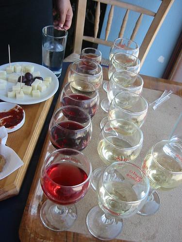 Santo Wines Wine tasting - the not-so-good stuff