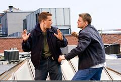 Matt Damon and Leonardo DiCaprio together at last