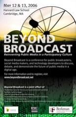 Beyond Broadcast conference @ Harvard Law School