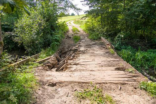 Tiltas per Jurkiškių upelį