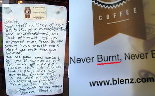 blenz mutiny = cluetrain manifesto