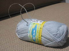 yarn and size 0 needles