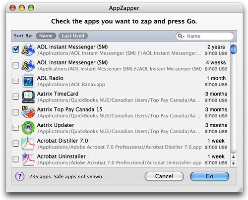 AppZapper's new ZapGenie feature