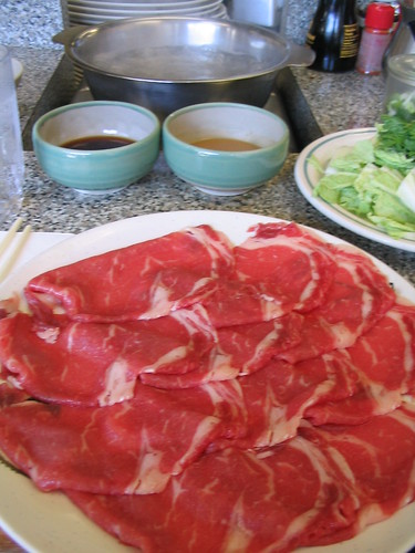 Shabu Shabu House meal