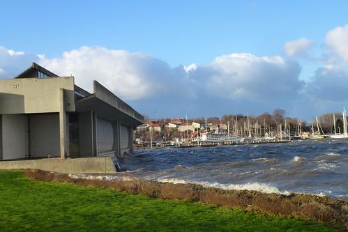 Højvande i Roskilde Fjord