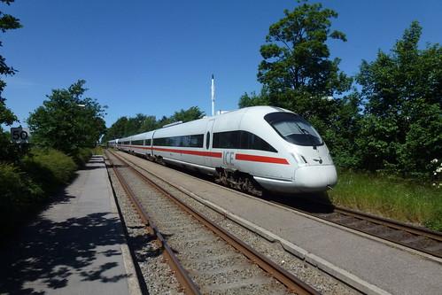 Hamburgekspessen på Gadstrup station