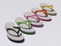 white_sandal