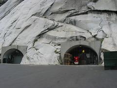 Montaña de granito