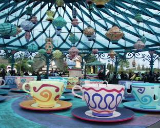 eurodisney teacup ride