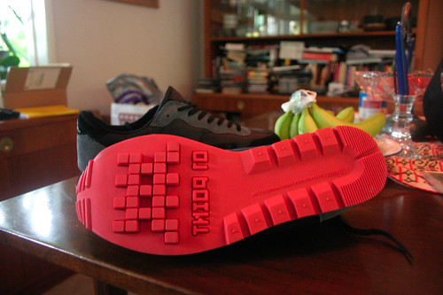 Space Invader Shoes: Sole