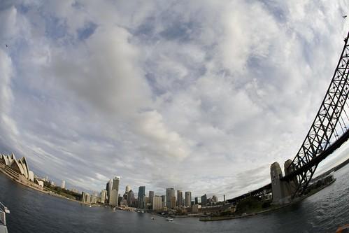 Sydney gets bent!