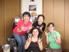 Junko, Noriko, Kristi & Rosalind