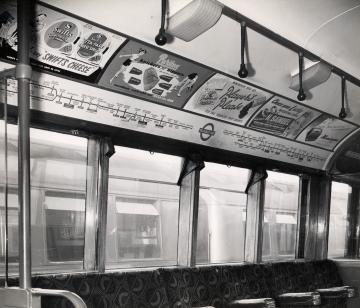 London Underground in 1950s