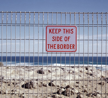 Keep this side of border