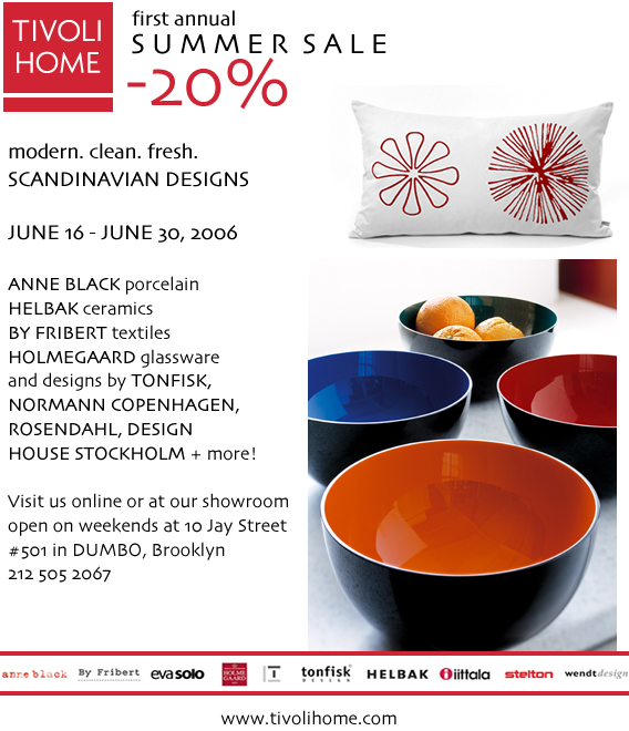 Tivoli Home - 20% Off Sale