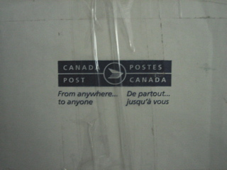 package from Canada