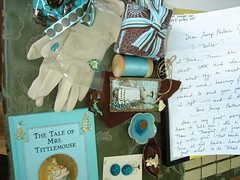 lovely turquoise and brown goodies