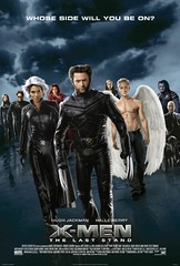 X-men 3 movie poster