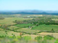 Glassy Mountain Fake Miniature