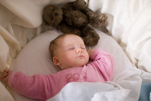 Anna in haar bed