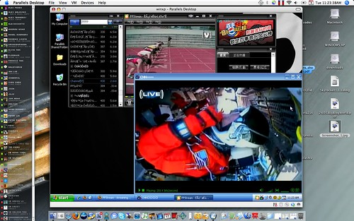 Watch Streaming TV through Parallels on MacBook