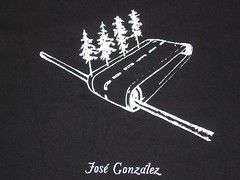 José Gonzáléz Australian tour shirt.