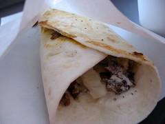 beef kebab roll