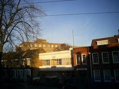 sunday morning in Hackney, East London
