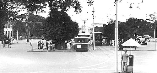 trams in old manila pre-war
