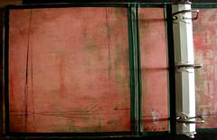Altered Binder - Work In Progress - Inside Front Cover